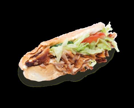 Kebab bageta kebabkingdavid_sk
