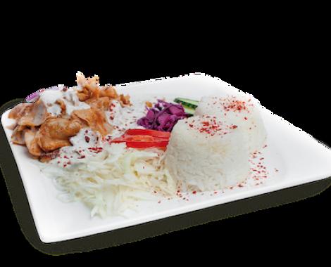 Kebab tanier s ryžou - kebabkingdavid_sk