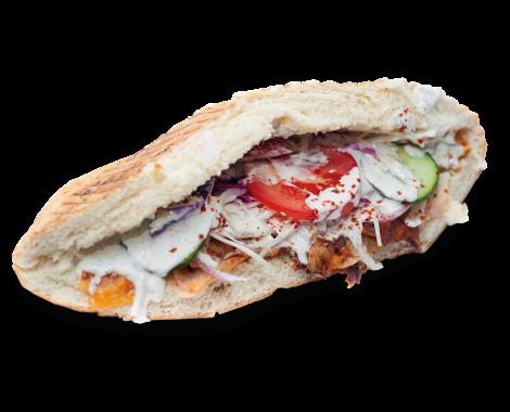 XXL kebab vyrez s tienom