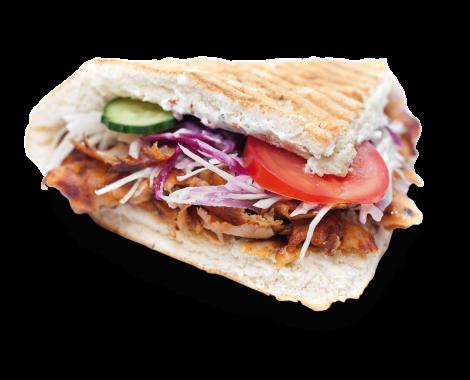 kebab vyrez s tienom